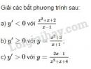 Bài 2 trang 168 sách giáo khoa Đại số và Giải tích 11
