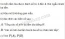 Bài 2 trang 74 sgk đại số và giải tích 11