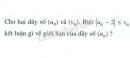 Bài 2 trang 141 (Ôn tập chương IV - Giới hạn) SGK Đại số và Giải tích 11