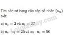 Bài 3 trang 103 SGK Đại số và Giải tích 11