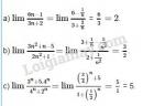 Bài 3 trang 121 sgk đại số 11