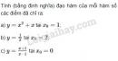 Bài 3 trang 156 SGK Đại số và Giải tích 11
