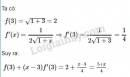 Bài 3 trang 176 SGK Đại số và Giải tích 11