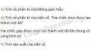Bài 3 trang 74 SGK Đại số và Giải tích 11