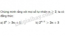 Bài 3 trang 82 SGK Đại số và Giải tích 11
