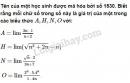 Bài 3 trang 141 (Ôn tập chương IV - Giới hạn) SGK Đại số và Giải tích 11
