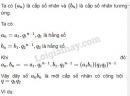 Câu 4 trang 107 SGK Đại số và giải tích 11