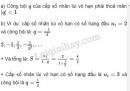 Bài 4 trang 142 SGK Đại số và Giải tích 11