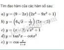 Bài 4 trang 169 SGK Đại số và Giải tích 11