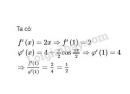 Bài 5 trang 169 SGK Đại số và Giải tích 11