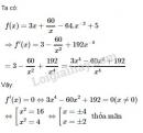 Bài 5 trang 176 SGK Đại số và Giải tích 11