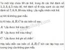 Bài 5 trang 64 SGK Đại số và Giải tích 11