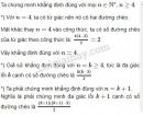 Bài 5 trang 83 SGK Đại số và Giải tích 11