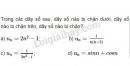 Bài 5 trang 92 SGK Đại số và Giải tích 11