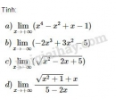 Bài 6 trang 133 sgk đại số 11