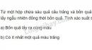 Bài 6 trang 76 SGK Đại số và Giải tích 11