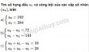 Câu 9 trang 107 SGK Đại số và giải tích 11