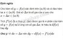 Lý thuyết Vi phân