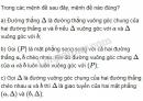 Bài 1 trang 119 SGK Hình học 11