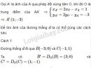 Bài 1 trang 15 sách giáo khoa hình học lớp 11
