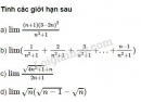 Bài 10 trang 180 SGK Đại số và giải tích 11
