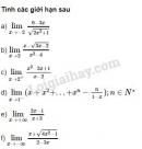Bài 13 trang 180 SGK Đại số và Giải tích 11
