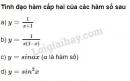 Bài 18 trang 181 SGK Đại số và giải tích 11