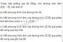 Bài 3 trang 34 sách giáo khoa hình học lớp 11