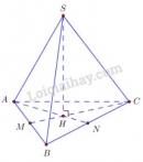Bài 7 trang 120 (Khoảng cách) SGK Hình học 11