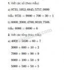 Bài 1, 2, 3, 4 trang 96 SGK Toán 3