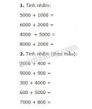 Bài 1, 2, 3, 4 trang 103 SGK Toán 3