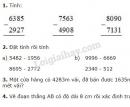 Lý thuyết, bài 1, bài 2  bài 3, bài 4 Tiết 102 trang 104 sgk Toán 3