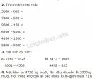 Bài 1, 2, 3, 4 trang 105 SGK Toán 3