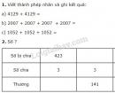 Bài 1, 2, 3, 4 trang 114 SGK Toán 3