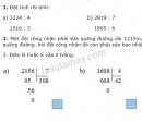 Bài 1, 2, 3 trang 119 SGK Toán 3