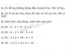 Lý thuyết, bài 1, bài 2 Tiết 156 trang 166 sgk Toán 3