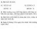 Bài 1, bài 2, bài 3, bài 4 Tiết 155 trang 165 sgk Toán 3