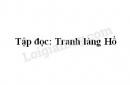 Soạn bài Tranh làng hồ trang 88 SGK Tiếng Việt 5 tập 2