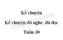 Kể chuyện: Kể chuyện đã nghe, đã đọc trang 120 SGK Tiếng Việt 5 tập 2