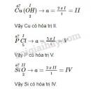 Bài 1 trang 41 sgk hóa học 8