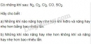 Bài 1 trang 69 SGK Hóa học 8