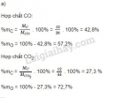 Bài 1 trang 71 sgk hóa học 8