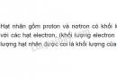 Bài 3 - Trang 15 - SGK Hóa Học 8