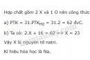 Bài 3 trang 31 sgk hóa học 8