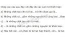 Bài 4 trang 31 sgk hóa học 8