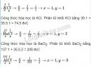Bài 4 trang 41 sgk hóa học 8