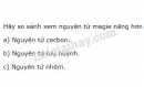 Bài 5 trang 20 SGK Hóa học 8
