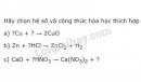 Bài 7 trang 58 sgk hóa học 8