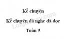 Kể chuyện: Kể chuyện đã nghe đã đọc trang 48 SGK Tiếng Việt 5 tập 1