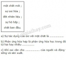 Bài 1 – Trang 87 – SGK Hóa học 8